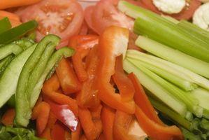 Las verduras crudas para ensaladas