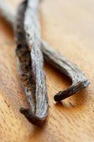 ¿Qué causa el extracto de vainilla al moho?