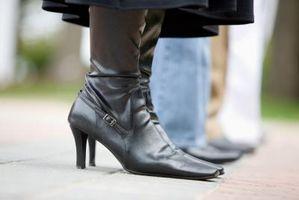 Cómo usar botas de cuero