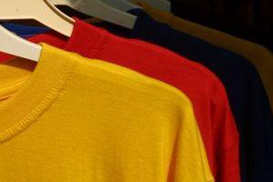 La mejor tela Mezclas para las camisetas