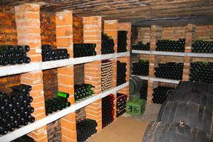 Forma de guardar vino hecho en casa