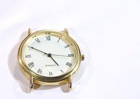 Cómo cuidar para Running Relojes Eléctricos Clásicos