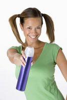 Cómo transferir un sello Mano Con Hairspray