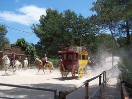 Senderos de Iowa Stagecoach