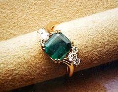 Cómo diseñar su propio anillo de esmeralda