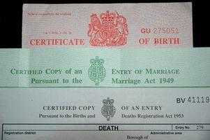 ¿Cómo puedo obtener una copia de mi certificado de nacimiento en Londres?