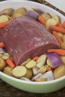 Cómo cocinar carne asada de crisol
