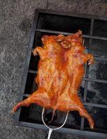 Los cortes de carne en una pierna del cerdo