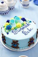 Cómo decorar un pastel con una formación de hielo Jeringa