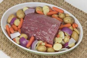 Cómo saber cuando una carne asada de crisol se hace