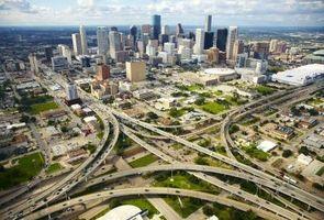 ¿Cuáles son las cuatro ciudades más grandes en Texas?