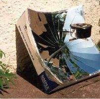 Cómo hacer un horno solar parabólico