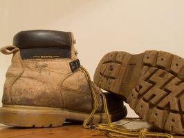 Cómo limpiar marcas de desgaste en las botas Timberland