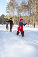 Cómo hacer una pasta de azúcar del esquiador