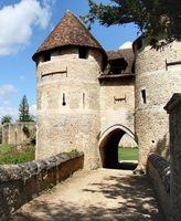 Monumentos en Normandía, Francia