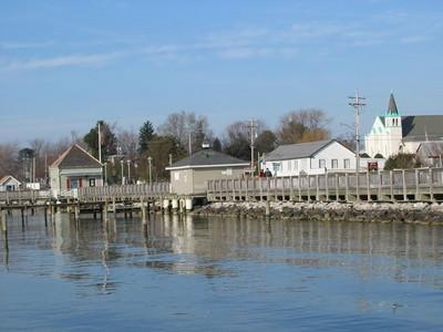 Los lugares con muelles en Maryland to Go cangrejos y pesca