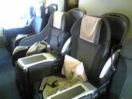 ¿Qué son los asientos de la clase de negocios?