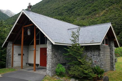 Historia de Nueva Zelanda Arquitectura