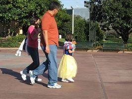 Cómo usar el calzado adecuado para la visita a un parque temático