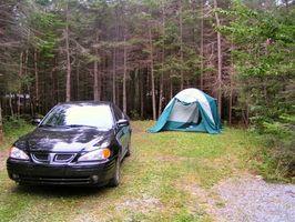 Parque Nacional Fundy acampar en New Brunswick