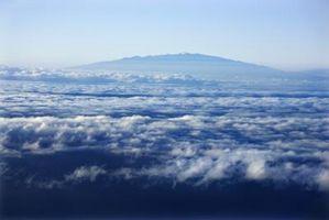 Pico más alto de las islas de Hawai