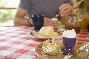Cómo comer huevos cocidos