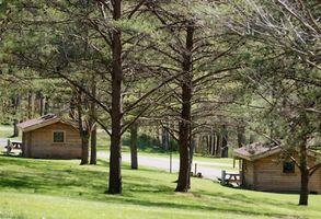 Campamentos con cabañas en Branson, MO