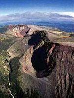 Sobre Monte Tarawera