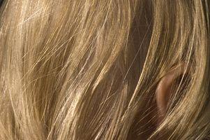 Cómo Fundido detalles de color de pelo en casa