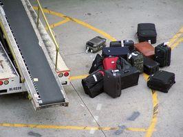 Cómo hacer el equipaje de la lona Etiquetas