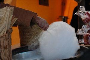 Cómo hacer que un fabricante del caramelo de algodón hecha en casa