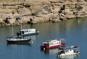 Lugares para atracar casas flotantes
