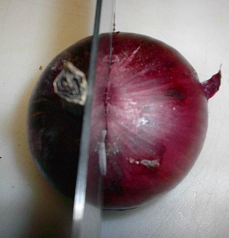 La mejor manera de pelar una cebolla