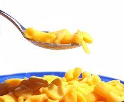 Las comidas rápidas para niños
