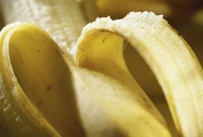 Cómo evitar que los plátanos en un pastel que se pongan marrones