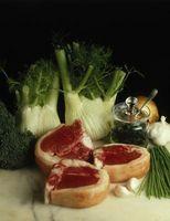 Las especias utilizadas para cocinar chuletas de cerdo
