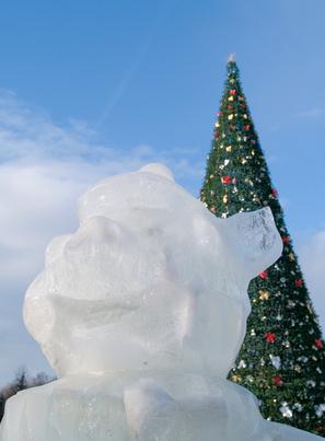 Eventos de la Navidad y luces en Pennsylvania