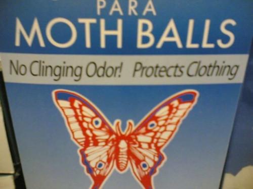 Bolas de la polilla de hacer matar las pulgas?