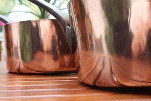 Herramientas de cocina del cobre