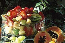 Cómo hacer una ensalada de frutas de verano