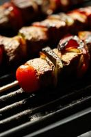 ¿Puedo utilizar cordero asada por Shish Kebab?