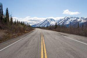 ¿Cuáles son las principales carreteras de Alaska?