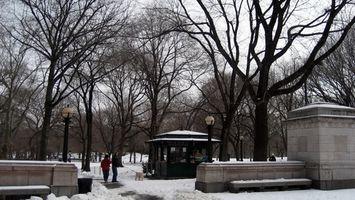 Fin de semana de invierno fin de semana desde la ciudad de Nueva York