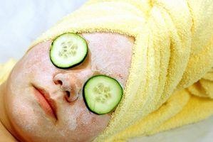 El tratamiento facial a base de hierbas