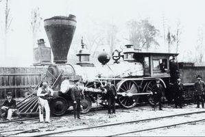 Los efectos de la locomotora de vapor