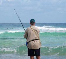 Pesca en mar en las Bahamas