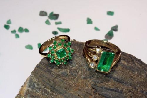 Cómo saber qué piedra se encuentra en un viejo anillo?