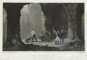 Composición de la sal de roca