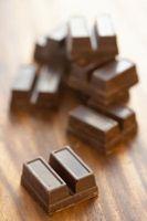 Trucos para derretir chocolate para el caramelo