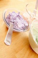 Cómo decorar crema de mantequilla de antemano